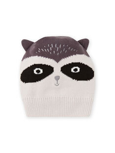 Baby boy grey raccoon hood MYUSAUBON2 / 21WI1065BONJ920