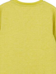 Heather yellow T-shirt GOTUTEE1 / 19W902Q2TMLB111