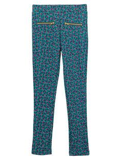 Navy pants GATUPANT / 19W901Q1PAN714
