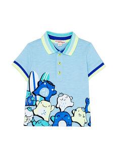 Blue Polo shirt JUQUAPOL / 20SG10R1POLC218