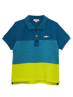 Blue Polo shirt JOBOPOL / 20S902H1POLC219