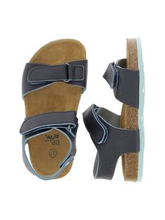 Boys' leather sandals CGNUBICO / 18SK36W5D0E070