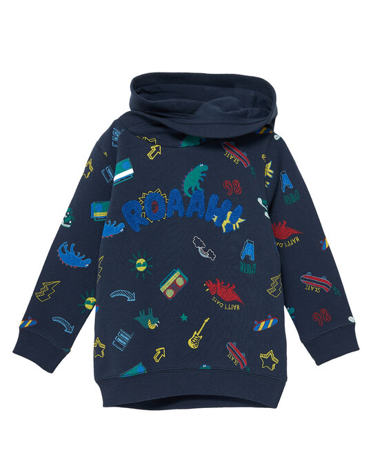 Navy Sweat Shirt JOGRASWE / 20S902E1SWE705