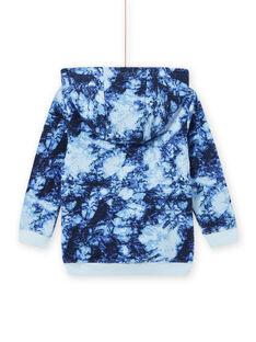 Boy tie and dye hoodie MOPLASWE / 21W902O1SWEC208