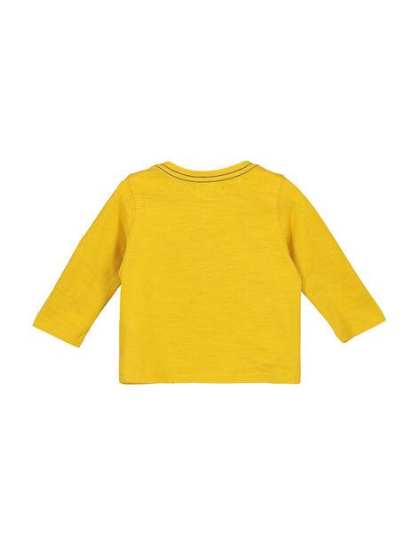 Baby boys' grandad collar T-shirt FUJOTUN1 / 19SG1031TML412
