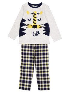 Grey Pajamas GEGOPYJFLA / 19WH12NBPYJJ922