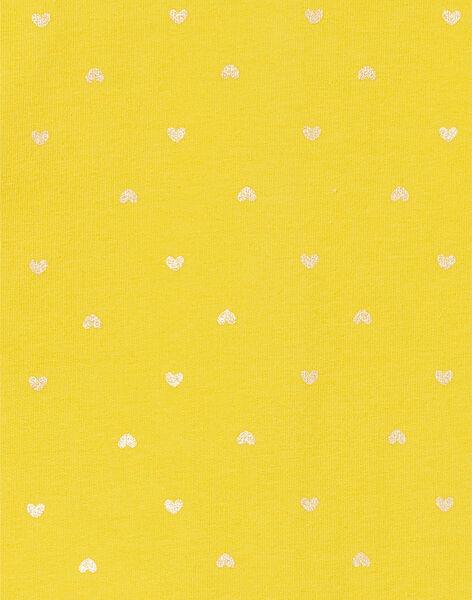 Golden yellow CARDIGAN LIJOCAR2 / 21SG0943CAR106