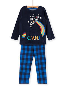 Pyjama t-shirt and pants navy blue child boy LEGOPYJSPA / 21SH125BPYJ705