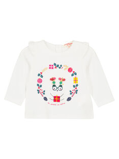Off white T-shirt GINOTEE / 19WG09V1TML001