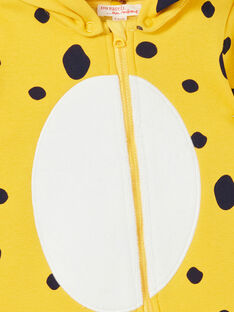 Surpyjama girl's fleece fleece fleece with leopard pattern LEFUCOMLEO / 21SH1411SPY106