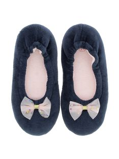 Girls' ballet pump slippers DFBALNOEUD / 18WK35W3D07070