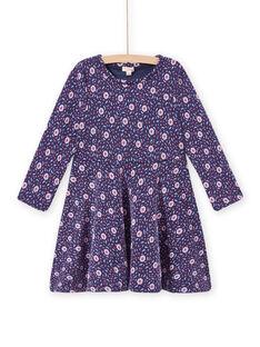 Child girl floral print skater dress MAPLAROB3 / 21W901O3ROBC202