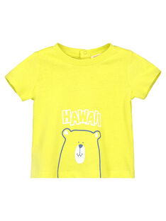 Yellow T-shirt FUJOTI10 / 19SG10G3TMCB105