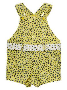 Sunny yellow Short Overalls JITROSAC / 20SG09F1SAC102