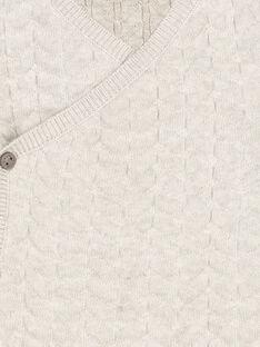 Unisex babies' knit cardigan FOU1GIL / 19SF0511GIL943
