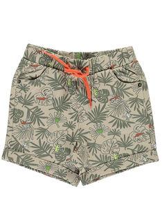 Baby boys' printed shorts FUYEBER2 / 19SG10M2BER099