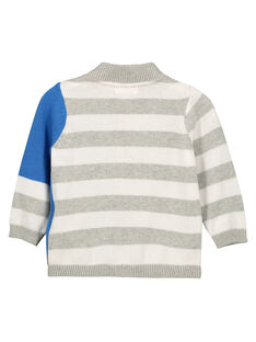 Baby boys' zipped cardigan FUTOGIL / 19SG10L1GIL099