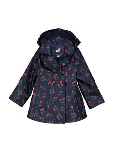 Girls' waterproof coat FACOIMPER2 / 19S901X2IMP099