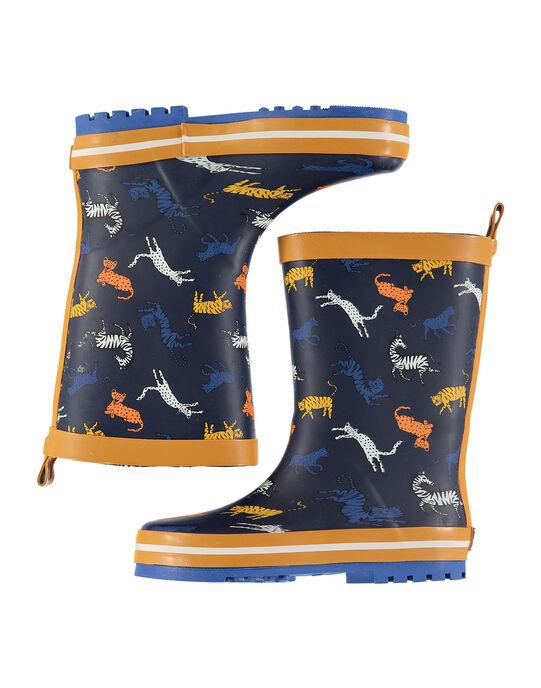 Navy Rain boots FGBPCOLO / 19SK36X2D0C070