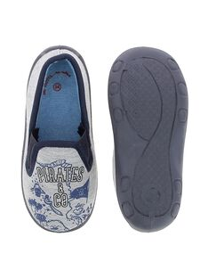 Boys' slip-on slippers CGSGCARTE / 18SK36X1D0B943