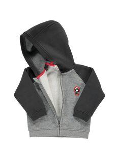 Baby boys' zip-up hoodie DUJOHOJOG1 / 18WG1021JGH099