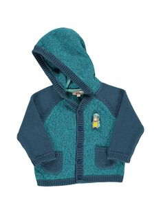Baby boys' hoodie CUHOGIL / 18SG10E1GIL099