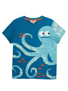 Blue T-shirt JOBOTI4 / 20S902H2TMCC219