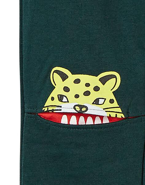 Green PANTS KOBRIJOG / 20W902F1D56G614
