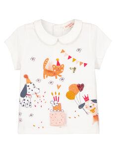 Off white Baby blouse GISANBRAEX / 19WG09C2BRA001