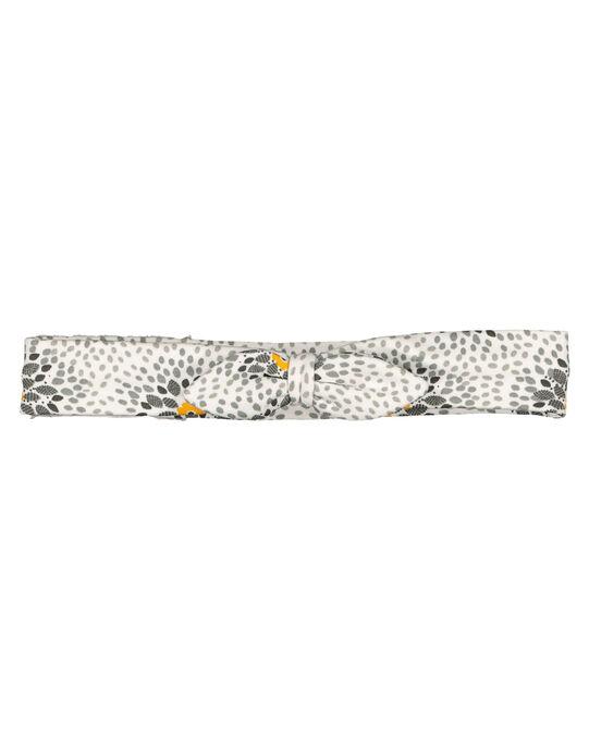 Baby girls' fancy headband GOU1BAN / 19WF4211BAN001