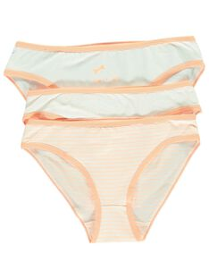 Pack of girls' briefs CEFALOTCRU / 18SH11T3SLI001