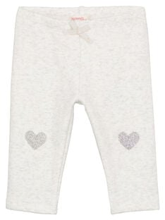 Heather grey pants GIJOPANDOU2 / 19WG0931PAN943