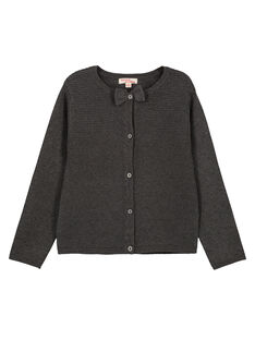 Dark grey Cardigan GAJOCAR4 / 19W90142D3C944