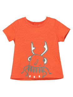 Baby boys' short-sleeved T-shirt FUJOTI9 / 19SG10G4TMC400