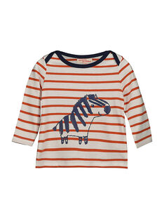Baby boys' long-sleeved T-shirt FUBATEE2 / 19SG1062TML099