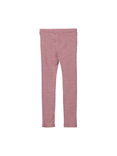 Girls' jacquard Milano trousers FACOPANT / 19S90181PAN099