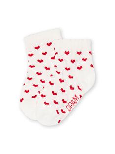 Girl's layette socks LYIJOSOQ3 / 21SI0932SOQ001