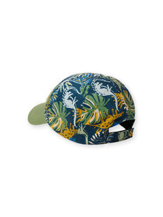 Green, blue and orange cap for boys LYOVERCAP / 21SI02Q1CHAG631