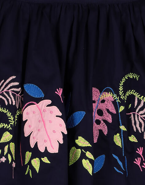 Girls' printed trapeze skirt GABLEJUP / 19W90191JUP070