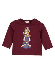 Purple T-shirt GUVIOTEE1 / 19WG10R1TML711