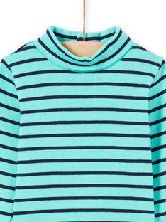 Baby Boy Turquoise & Navy Stripe Underwear MUJOSOUP1 / 21WG10N2SPL209