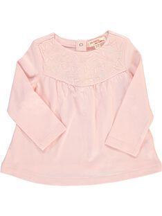 Baby girls' long-sleeved T-shirt CIJOTEE4 / 18SG09R5TML321