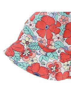 Baby girls' floral print hat CYIBUCHA / 18SI09K1CHA099