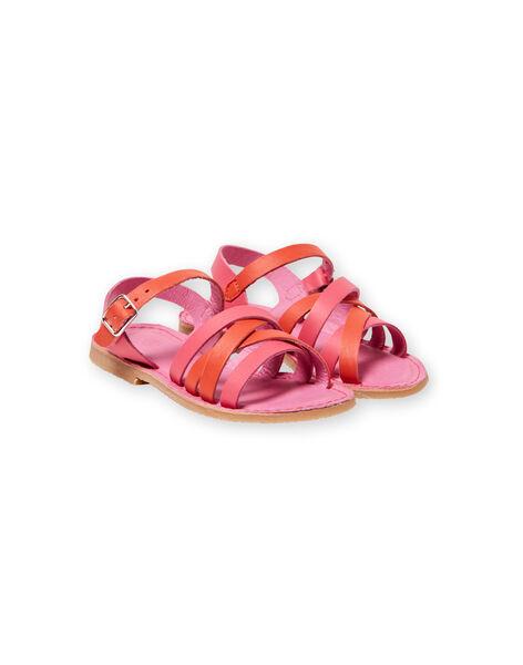 Baby girl pink sandals LFSANDCLARA / 21KK3552D0E304