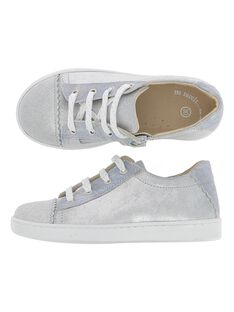 Girls' leather city trainers CFTENPHAR / 18SK35W2D3G956