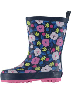 Navy Rain boots GBFBPBLE / 19WK37G1D0C070