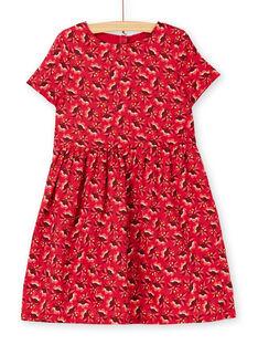 Red DRESS KANOROB2EX / 20W901Q5ROBF529
