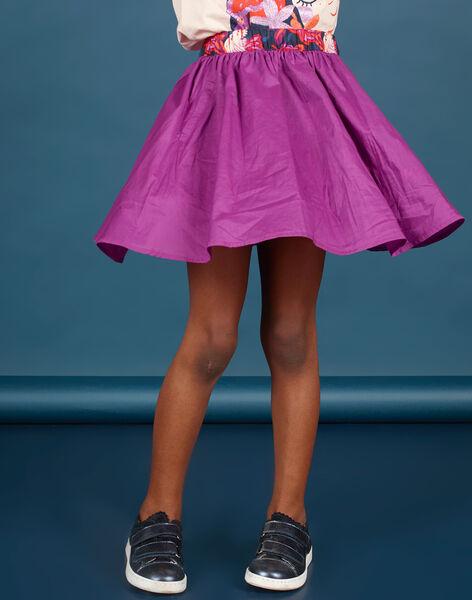 Reversible skater skirt child girl MAPAJUP / 21W901H1JUPC205