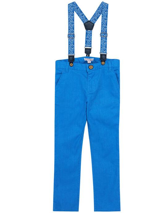 Blue pants JOSOPAN / 20S90281PAN201