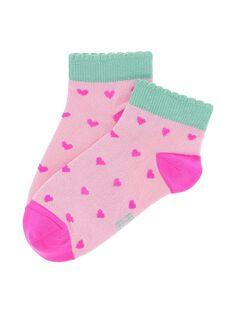 Girls' ankle socks CYAMACHO / 18SI01U1SOQ099